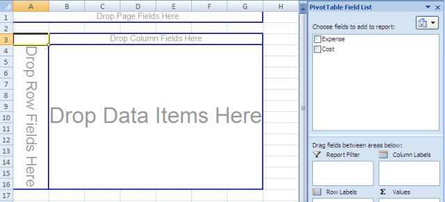 Create Pivot Tables 2