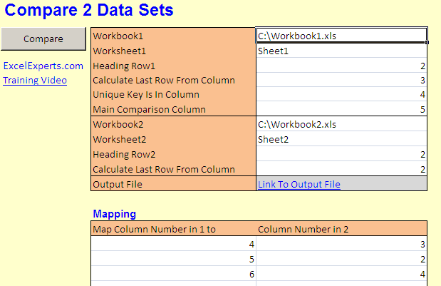 compare-2-data-sets