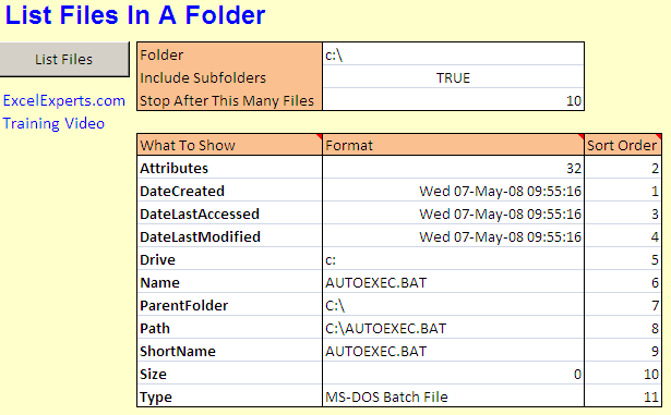 list-files-in-folder