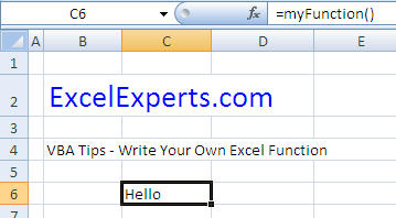 write-your-own-excel-function